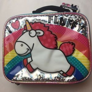 Other - DESPICABLE ME 3 FLUFFY UNICORN Insulated lunch box